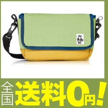 (チャムス) ショルダーバッグ Small Camera Shoulder Sweat Nylon H.Jade/Yellow