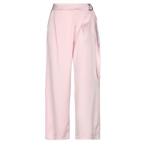 《セール開催中》PAOLO CASALINI レディース パンツ ピンク S ポリエステル 98% / ポリウレタン 2%