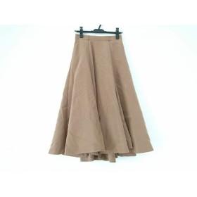 【中古】 マイストラーダ Mystrada スカート サイズ38 M レディース 美品 ライトブラウン