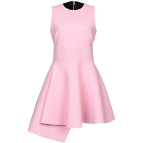 《期間限定セール開催中!》FAUSTO PUGLISI レディース ミニワンピース&ドレス ピンク 40 バージンウール 100%