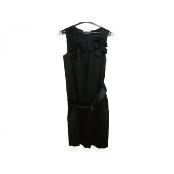 【中古】 ヴィヴィアンタム VIVIENNE TAM ドレス レディース 黒 DRESS/フラワー/シルク