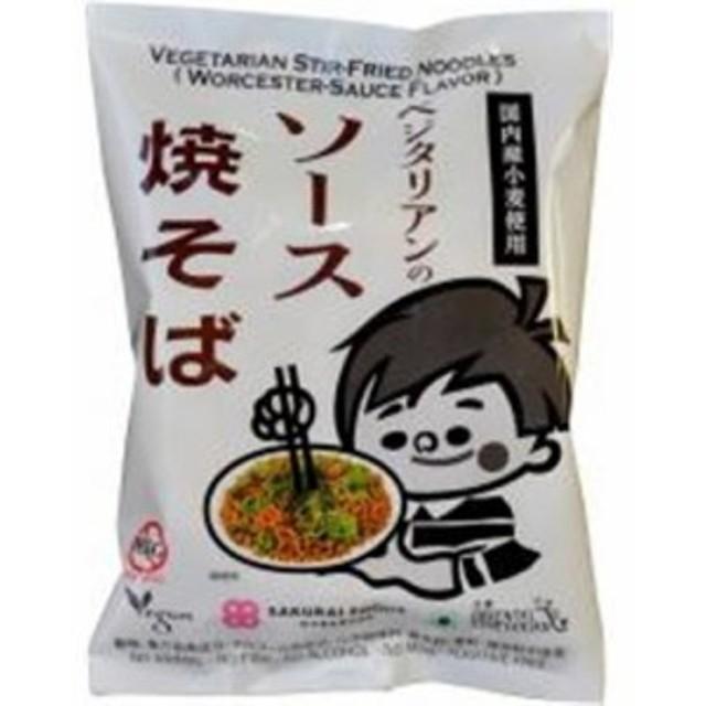 桜井 ベジタリアンのソース焼そば118g インスタント麺