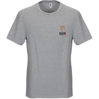 《9/20まで! 限定セール開催中》MOSCHINO メンズ アンダーTシャツ グレー XS コットン 95% / ポリウレタン 5%