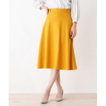 SHOO・LA・RUE/DRESKIP(シューラルー/ドレスキップ) ウエストタプポンチフレアスカート