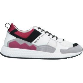 《セール開催中》MOA MASTER OF ARTS メンズ スニーカー&テニスシューズ(ローカット) ホワイト 41 革 / 紡績繊維