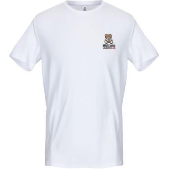 《9/20まで! 限定セール開催中》MOSCHINO メンズ アンダーTシャツ ホワイト XS コットン 95% / ポリウレタン 5%