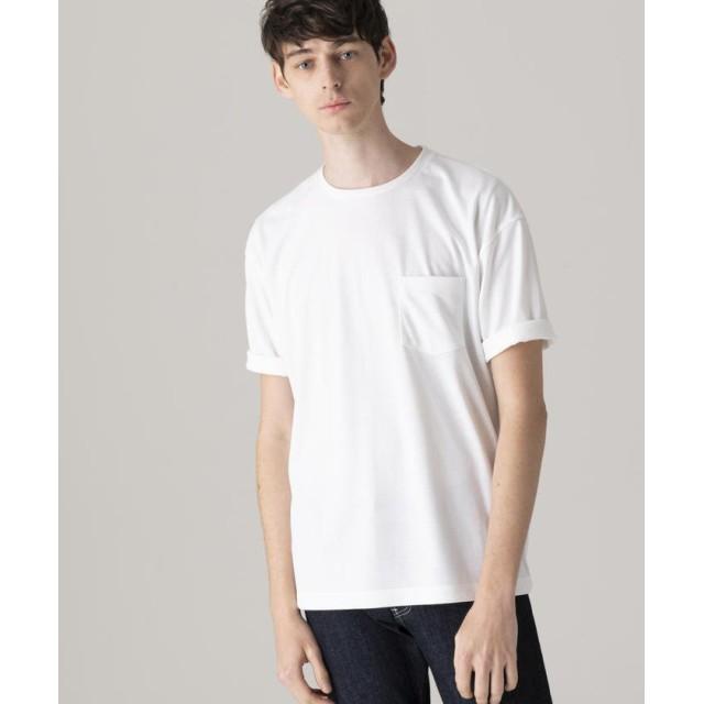 【20%OFF】 マッキントッシュ フィロソフィー ビッグボディポケTシャツ メンズ ホワイト 40 【MACKINTOSH PHILOSOPHY】 【セール開催中】
