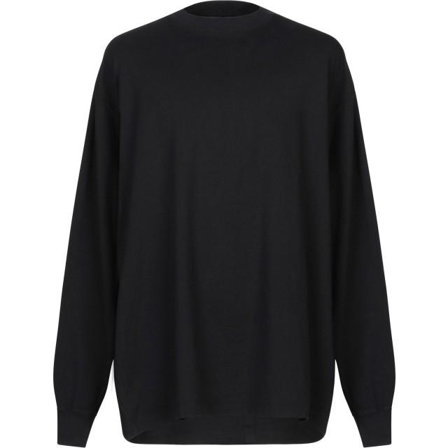 《期間限定 セール開催中》BEN TAVERNITI UNRAVEL PROJECT メンズ T シャツ ダークブルー S コットン 100%