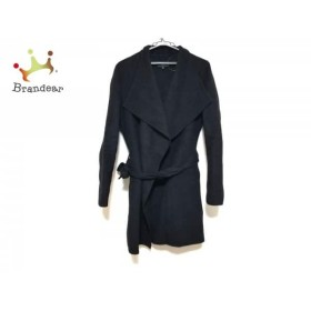 ジョセフ JOSEPH コート サイズ38 L レディース 黒 カシミヤ混/冬物   スペシャル特価 20190904