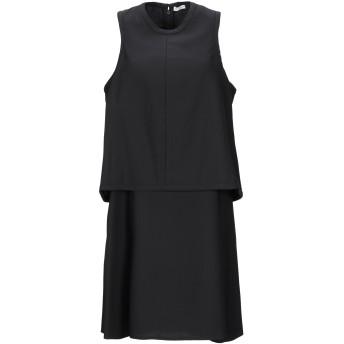 《セール開催中》CARVEN レディース ミニワンピース&ドレス ブラック 42 ポリエステル 100%