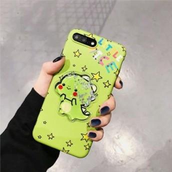 iPhone ケース ゆめかわ 恐竜 ゆるかわ キラキラ 星 スター ラメ YN-3-227