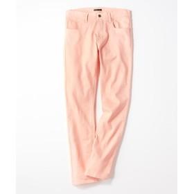 PLUS ONE 【WEB限定】24色スキニーパンツ メンズ【店舗裾上げ不可】 ショッキングピンク