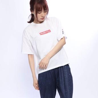 マーベル MARVEL レディース 半袖Tシャツ MV-9C22499TSSM
