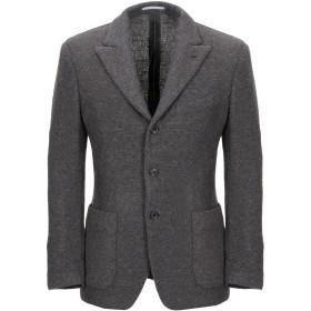 《期間限定セール開催中!》GABRIELE PASINI メンズ テーラードジャケット 鉛色 44 ウール 100%