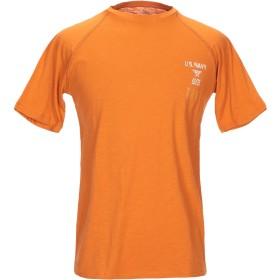 《期間限定セール開催中!》AVIREX メンズ T シャツ オレンジ XL コットン 100%