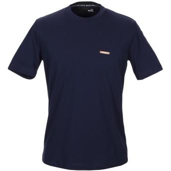 《セール開催中》LOVE MOSCHINO メンズ T シャツ ダークブルー XS コットン 100% / ポリウレタン