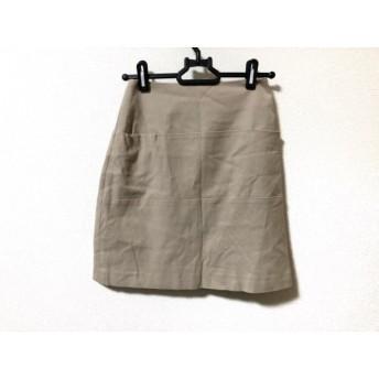 【中古】 シビラ Sybilla ミニスカート サイズ69-90 レディース ベージュ