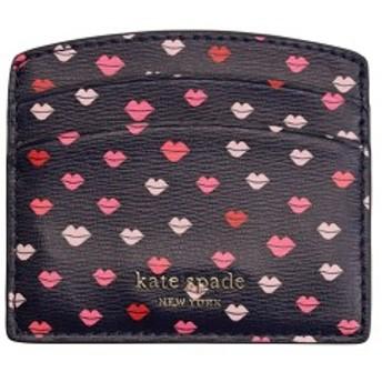 ケイトスペード レディース kate spade カードケース パスケース リップ柄 pwru7225-428
