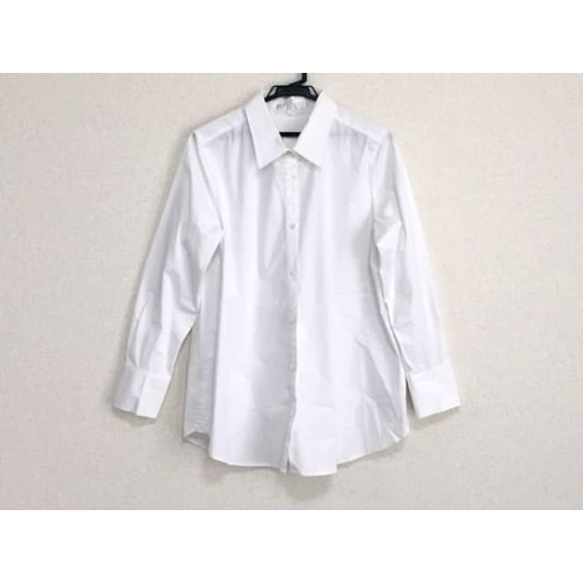【中古】 ジユウク 自由区/jiyuku 長袖シャツブラウス サイズ46 XL レディース 白