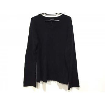 【中古】 アニエスベー agnes b 長袖セーター サイズ0 XS メンズ 黒 homme