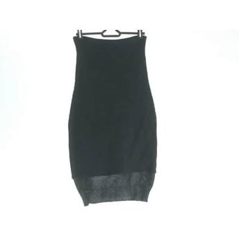 【中古】 トーガ TOGA ロングスカート サイズ1 S レディース 黒