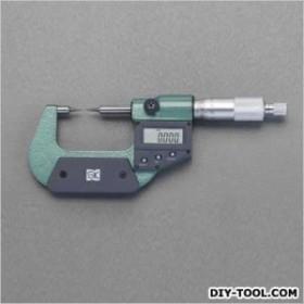 エスコ(esco) 0-25mmマイクロメーター(デジタル/ポイント) EA725EH-49