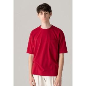 MACKINTOSH PHILOSOPHY 【WEB限定】ビッグボディポケTシャツ Tシャツ・カットソー,ワイン
