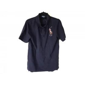【中古】 ポロラルフローレン 半袖ポロシャツ サイズXL メンズ ビッグポニー ダークネイビー