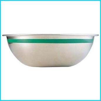 遠藤商事 18-8ステンレス カラーライン ボール 30cm グリーン ABC8832