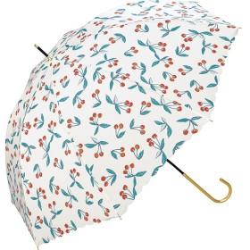 [マルイ] 【長傘】チェリー/軽くて丈夫で持ちやすい(レディース雨傘)/w.p.c(WPC)