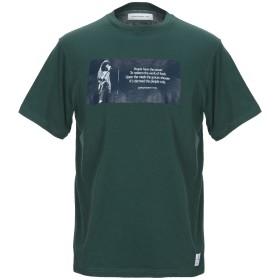 《セール開催中》DEPARTMENT 5 メンズ T シャツ ダークグリーン S コットン 100%