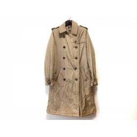 【中古】 バーバリーロンドン Burberry LONDON コート サイズUSA 8 レディース ベージュ 冬物