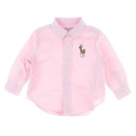 RALPH LAUREN  / ラルフローレン キッズ シャツ 色:ピンク系 サイズ:85CM