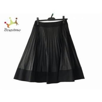 ギャラリービスコンティ GALLERYVISCONTI スカート サイズ2 M レディース 美品 黒 プリーツ スペシャル特価 20190820