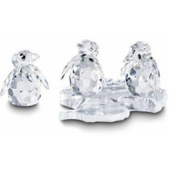 スワロフスキー Swarovski 『ベビーペンギン (3羽セット)』 209588