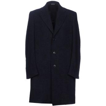 《期間限定セール開催中!》TOMBOLINI メンズ コート ダークブルー 52 アクリル 53% / ウール 23% / ポリエステル 22% / 指定外繊維 2%