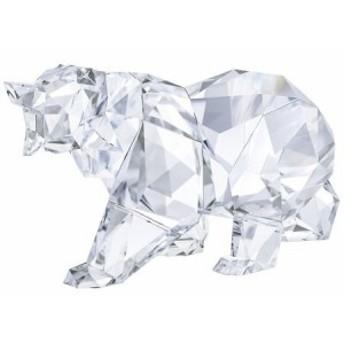 スワロフスキー Swarovski クリスタル クマ BY ARRAN GREGORY CLEAR CRYSTAL 5384969