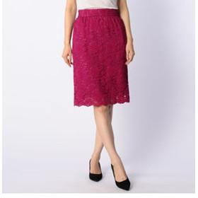 【NOLLEY'S:スカート】コードレーススカート