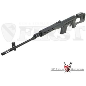 KA-AG-064 SVD Sniper Rifle Ultra Grade ドラグノフ BK 電動ガン 海外製 18歳以上 import(18erm)