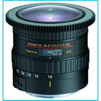 Tokina シネマ対応魚眼ズームレンズ AT-X107 DX V Fisheye 10~17mm F3.5~4.5キヤノン用