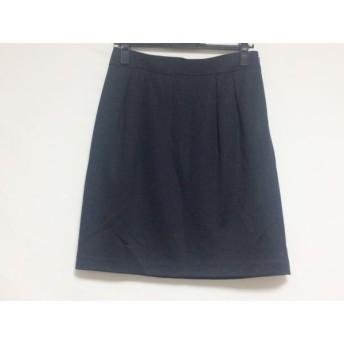 【中古】 マッキントッシュフィロソフィー スカート サイズ38 L レディース 美品 黒