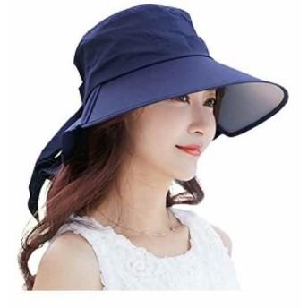 uvカット 帽子 農作業 日除け防止 日焼け止め 紫外線カット 日よけ帽子 婦人 女優帽子 レディース 春夏 自転車 バケットハット ひも hat