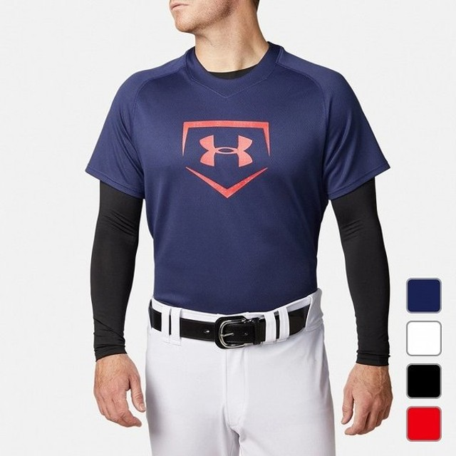 アンダーアーマー UNDER ARMOUR メンズ 野球 半袖Tシャツ UA Big Logo Baseball Shirt 1331502