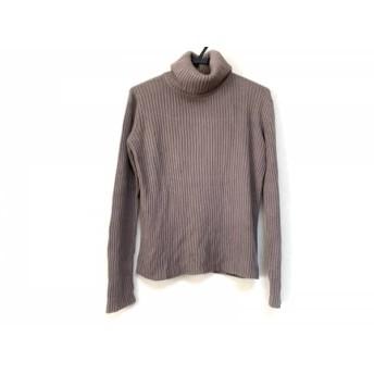 【中古】 アニエスベー agnes b 長袖セーター メンズ グレージュ homme/タートルネック