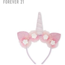 FOREVER21 フォーエバー21 【[KIDS]フラワーユニコーンカチューシャ】(5,000円以上購入で送料無料)