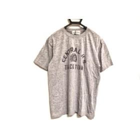 【中古】 ゴア G.O.A/goa 半袖Tシャツ サイズF レディース 美品 ライトグレー GOA WORKER & SUPPLY