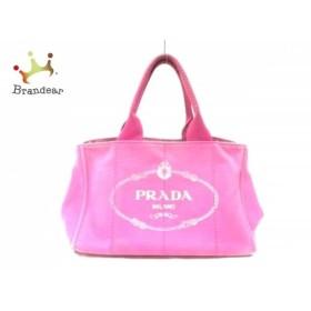 6dc4075d9262 プラダ PRADA トートバッグ CANAPA ピンク キャンバス スペシャル特価 20190530