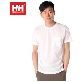 ヘリーハンセン HELLY HANSEN  Tシャツ 半袖 メンズ Plain Pocket Tee プレイン ポケット HOEV61902 W