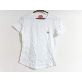 【中古】 ヴィヴィアンウエストウッドレッドレーベル 半袖Tシャツ サイズXS レディース アイボリー