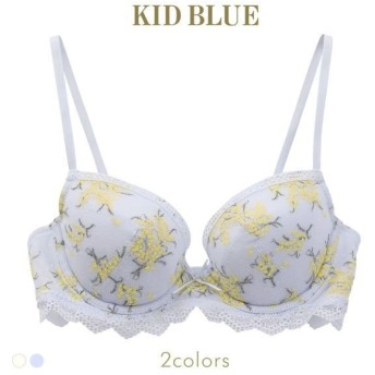ブラジャー キッドブルー KID BLUE ミモザレース 3/4カップ 単品